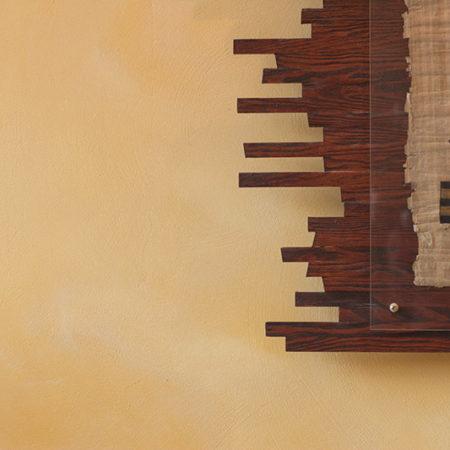 Handgemachter Holzrahmen