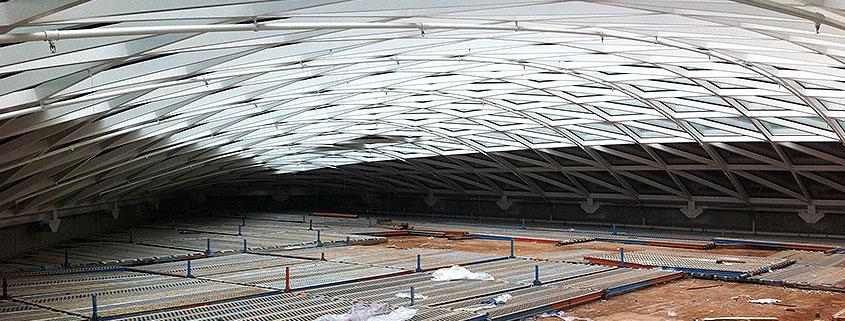 Große Industriehalle