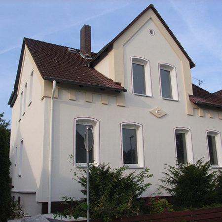 Renovierte Fassade – Langenkampstraße 29