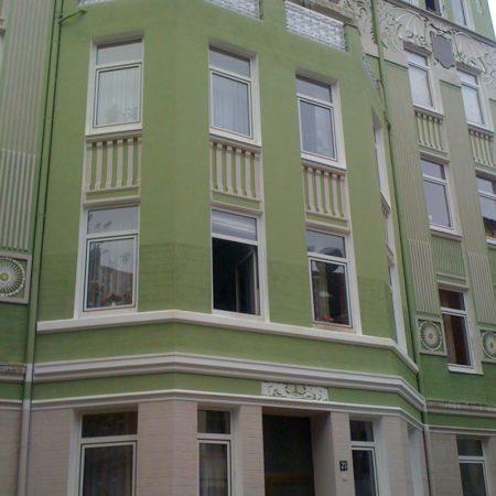Renovierte Fassade – Wittekindstraße