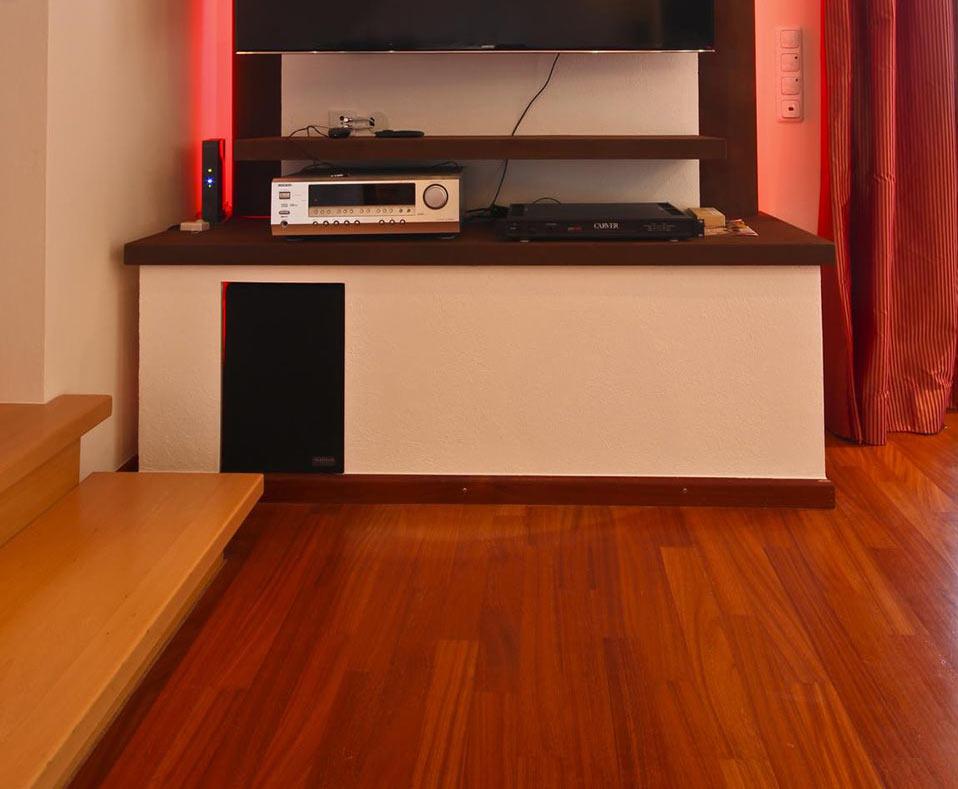 Raum mit Vinylboden